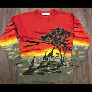 🔥 Vintage Serengeti  sweater